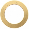Metal Blank 24ga Brass Washer-round 32mm With Hole